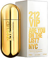 Carolina Herrera 212 VIP for Women парфюмированная вода 80 ml. (Каролина Херрера 212 Вип Фор Вумен), фото 1
