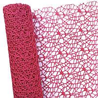 Сетка флористическая Poly net 1 бордовая 53см х 5ярдов