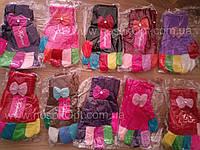 Перчатки детские девочка Бантик опт