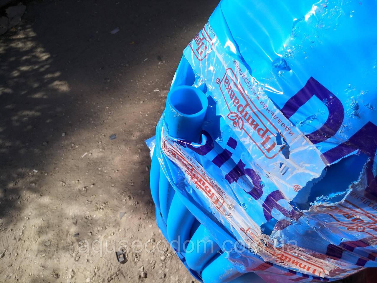 Харчова труба поліетиленова 40 мм 16 атм (синя)