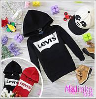 Семейный тёплый свитшот LEVIS