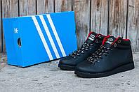 Мужские ботинки Adidas Neo (Адидас) черные