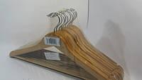 Деревянные плечики с  перекладиной 43,5см, фото 1