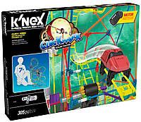 Американские горки - Часы (305 деталей), набор для конструирования, K`nex