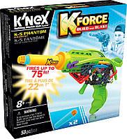 Бластер K-5 Phantom (53 детали), набор для конструирования, K`nex