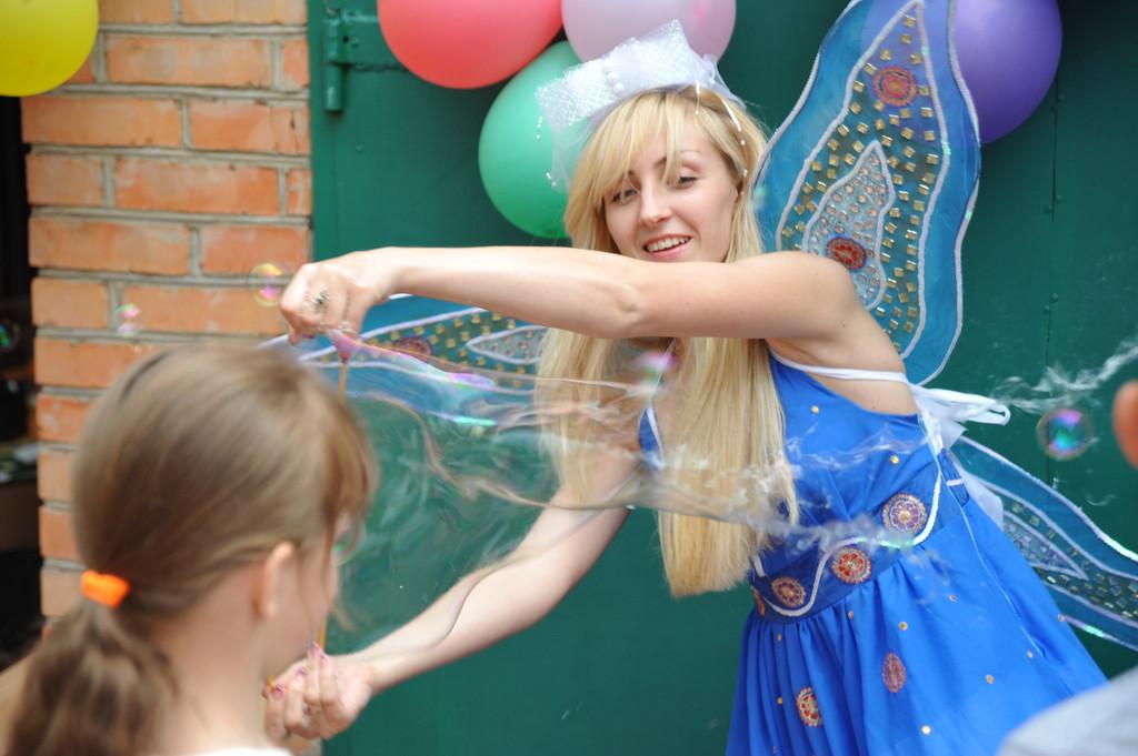 Проведение шоу мыльных пузырей 26