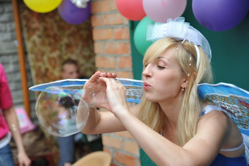 Проведение шоу мыльных пузырей 14