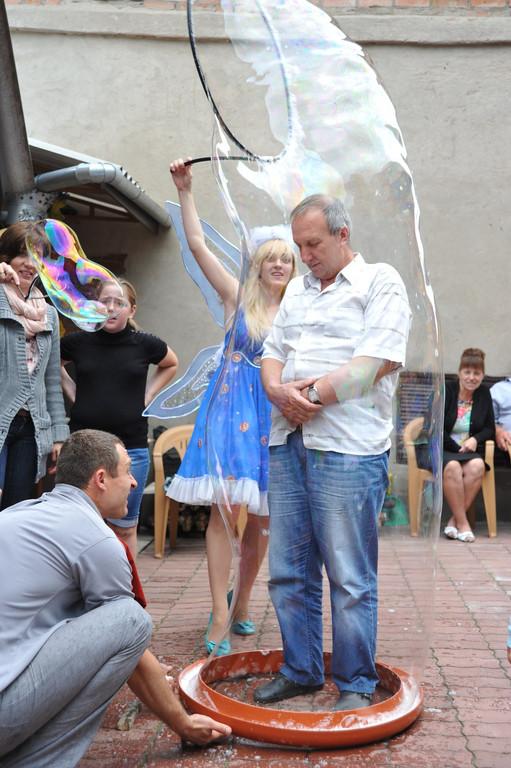Проведение шоу мыльных пузырей 29