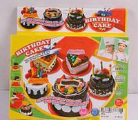 """Тесто для лепки  """"Торт на день рождения"""""""