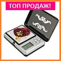 ХИТ ПРОДАЖ! Ювелирные мини весы до 200 гр. с зеркальцем