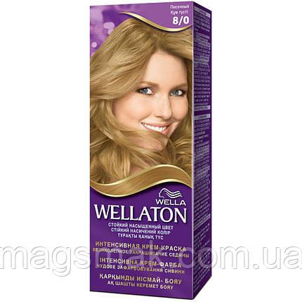 Крем-краска для волос Wellaton 8/0 Песочный, фото 2