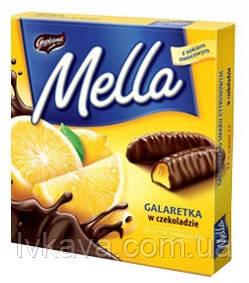 Конфеты желе в шоколаде Mella Goplana лимон  , 190 гр