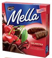 Конфеты желе в шоколаде Mella Goplana вишня  , 190 гр