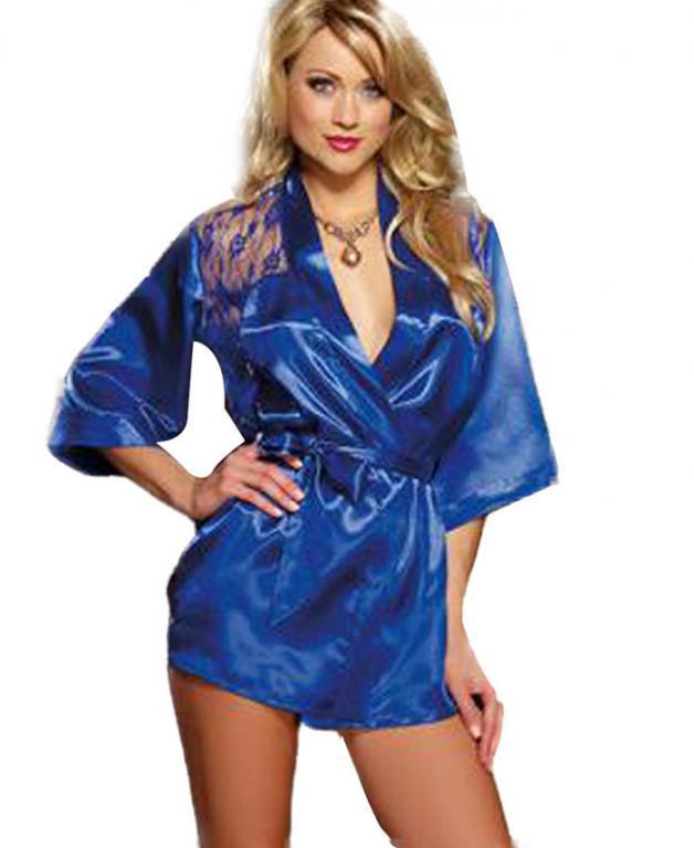 Сексуальное халат кимоно