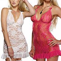 Сексуальный комплект платье пеньюар