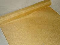 Декоративная ткань-мешковина желтая 90 см