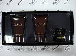 Парфюмированный набор Versace Crystal Noir