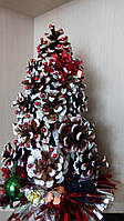 Новогодняя елка из шишек