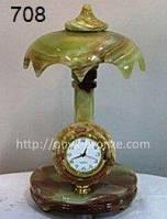 Часы-зонт из оникса