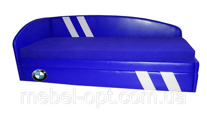 Диван-кровать Гранд Лайт BMW синий для детей и подростков