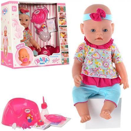 Кукла-пупс, девочка, полный к-т. BB 8001-8