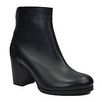 Ботинки короткие кожаные зима 36-41