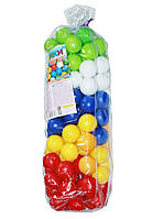Шарики ( Кульки) игровые для палаток, сухих бассейнов 1-117 на 60 мм 100штук