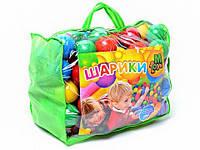 Шарики мягкие ( Кульки) игровые для палаток, сухих бассейнов13027  на 60 мм 100штук