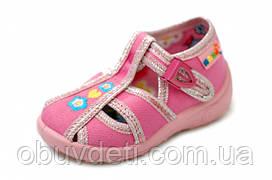 Тапочки-босоножки для девочки Nazo 22-14,5cm с кожаными стельками