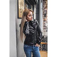 Куртка косуха женская кожаная Гридель,стильные куртки
