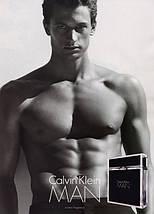 Calvin Klein MAN туалетная вода 100 ml. (Кельвин Кляйн Мен), фото 2
