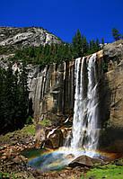 Настенный электро инфрокрасныйобогреватель картина «Водопад» 100х57 см.