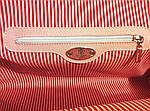 Кожаная сумка VS101 silver pink 38х20х18 см, фото 3