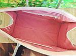 Кожаная сумка VS101 silver pink 38х20х18 см, фото 4