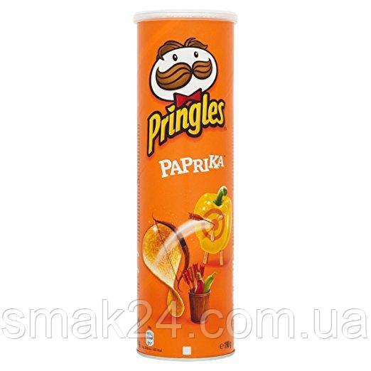 Чипсы с паприкой Pringles Sour Paprika, 165 г