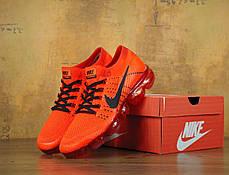 Кроссовки мужские Найк Nike VaporMax FLYKNIT Red , фото 2