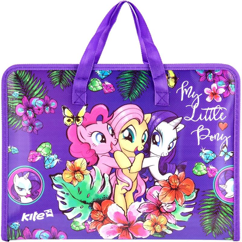 Портфель на молнии А4 My Little Pony