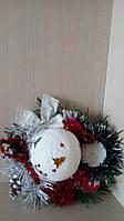 Декоративное новогоднее панно -подарок на Новый год 2018
