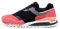 Кроссовки мужские Нью Беленс Sneaker Freaker x New Balance 997.5 Tassie Tiger Black/Bordo. ТОП Реплика ААА класса.