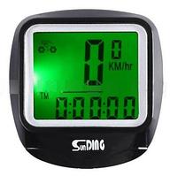 Велокомпьютер SD-568 с подсветкой экрана,waterproof,23 функции (блистер) LO