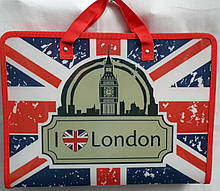 """Портфель на молнии А4 """"LONDON"""""""