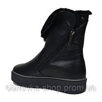 Ботинки на платформе женские зима 38, фото 3