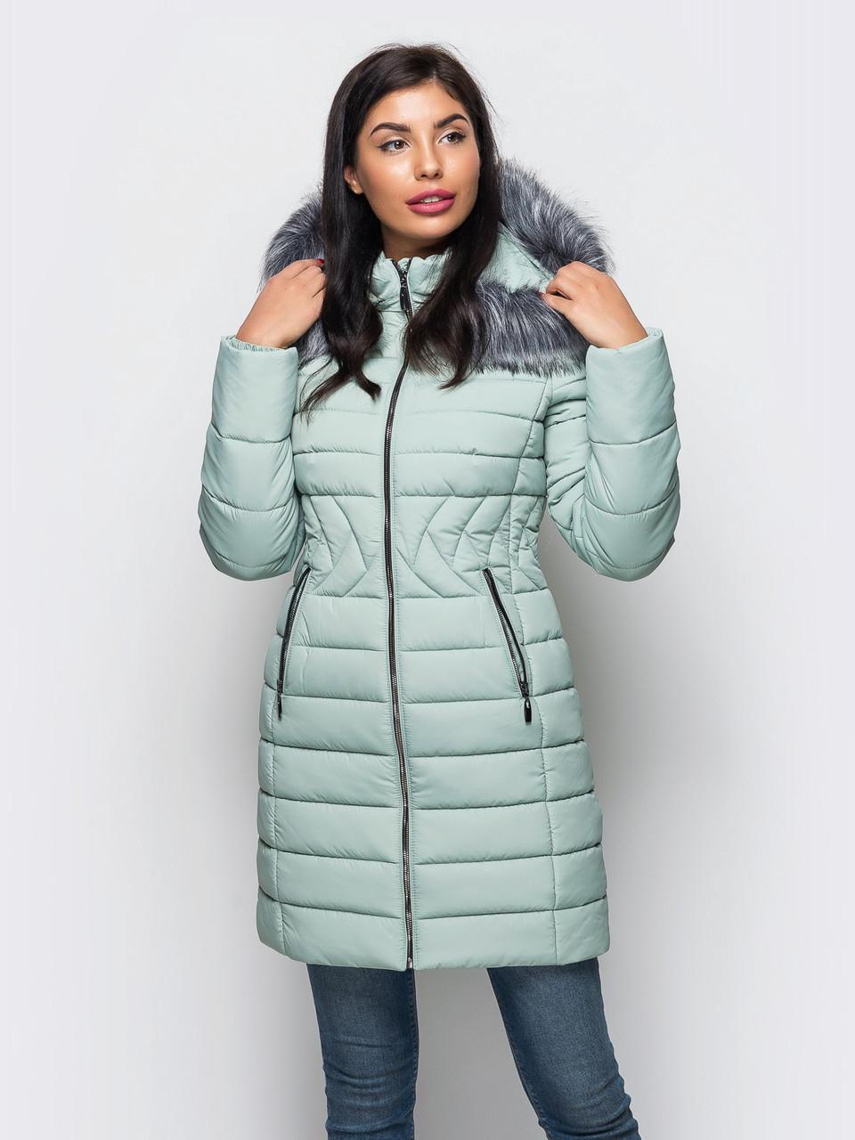 4522c09d Женская стильная теплая зимняя куртка р.42,44,46,48,50,52: продажа ...