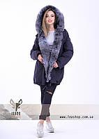Меховая куртка парка для женщин