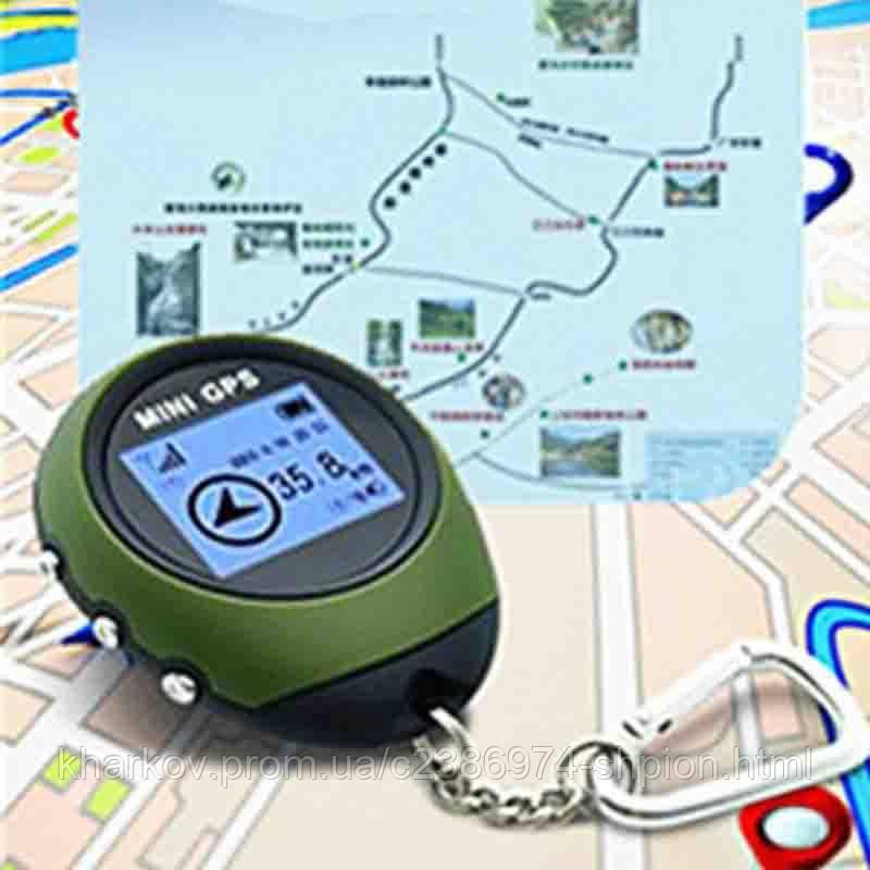 Мини GPS логер PG-03 ( SR304 ) навигатор брелок для рыбалки, охоты, туризма, фото 1