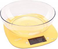 Весы кухонные MAGIO MG-290N (желтые)