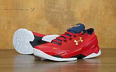 Кроссовки мужские баскетбольные Under Armour Curry 2 Red, фото 3