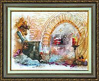 """Набор украшаем вышивку стразами КСТ-001 """"Новогодний натюрморт"""""""