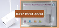 Wi-Fi репитер роутер с EU plug LV-WR 02E