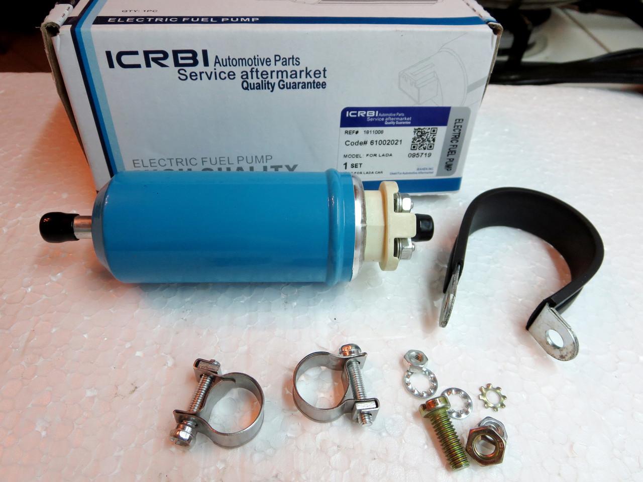 Электробензонасос  низкого давления ICRBI на обычную и  инжекторную Славуту, Таврию.